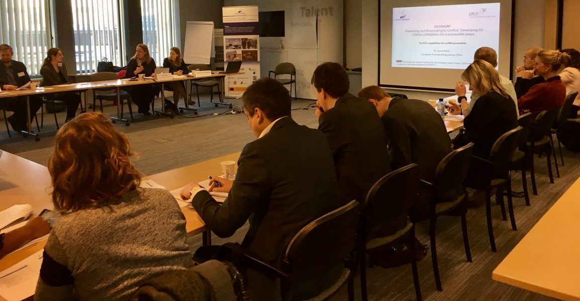 "Workshop 2 – ""EU Conflict Prevention"""
