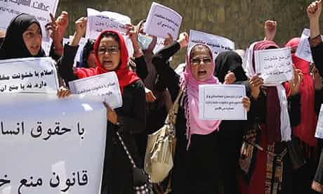 Women's rights in Afghanistan: one step forward, two steps back?